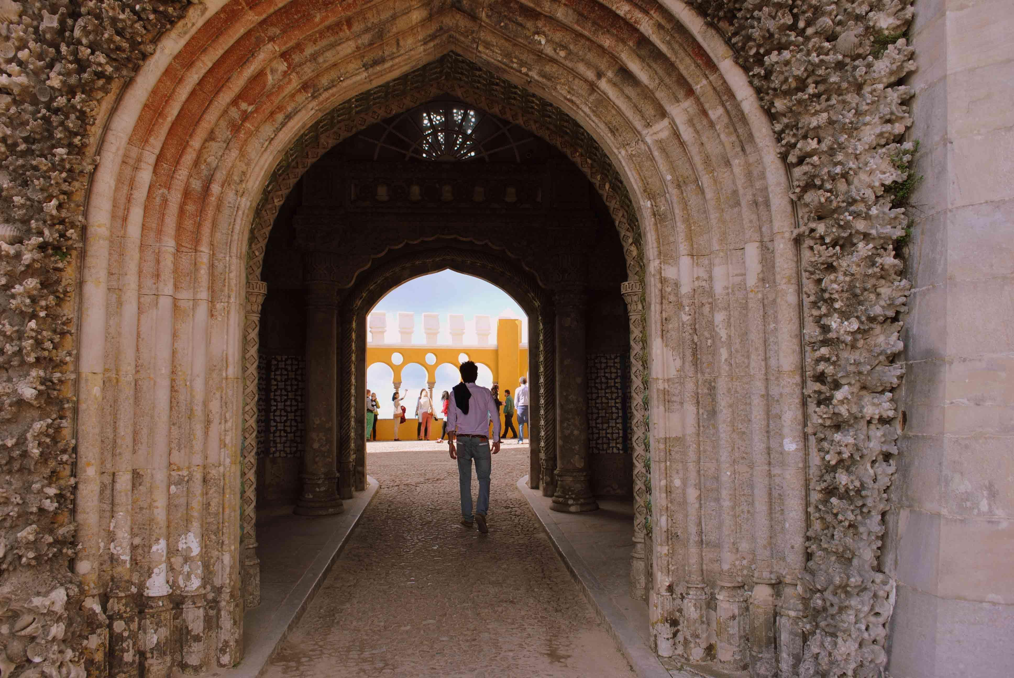 Arco de entrada al convento.