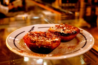 Pasteis de Belém, en la pastelería homónima. Lisboa 2013.