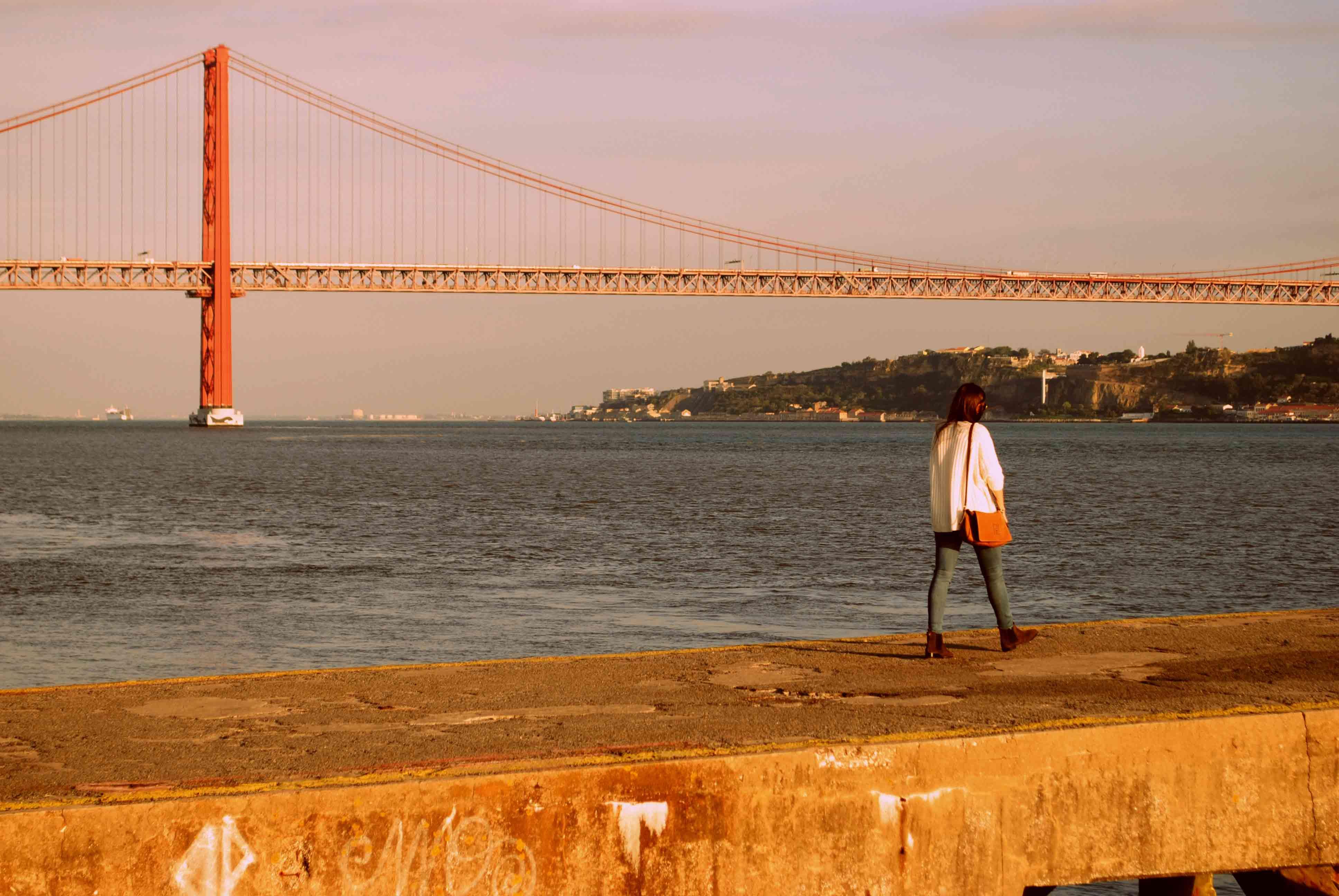 Puente 25 Abril Rio Tajo