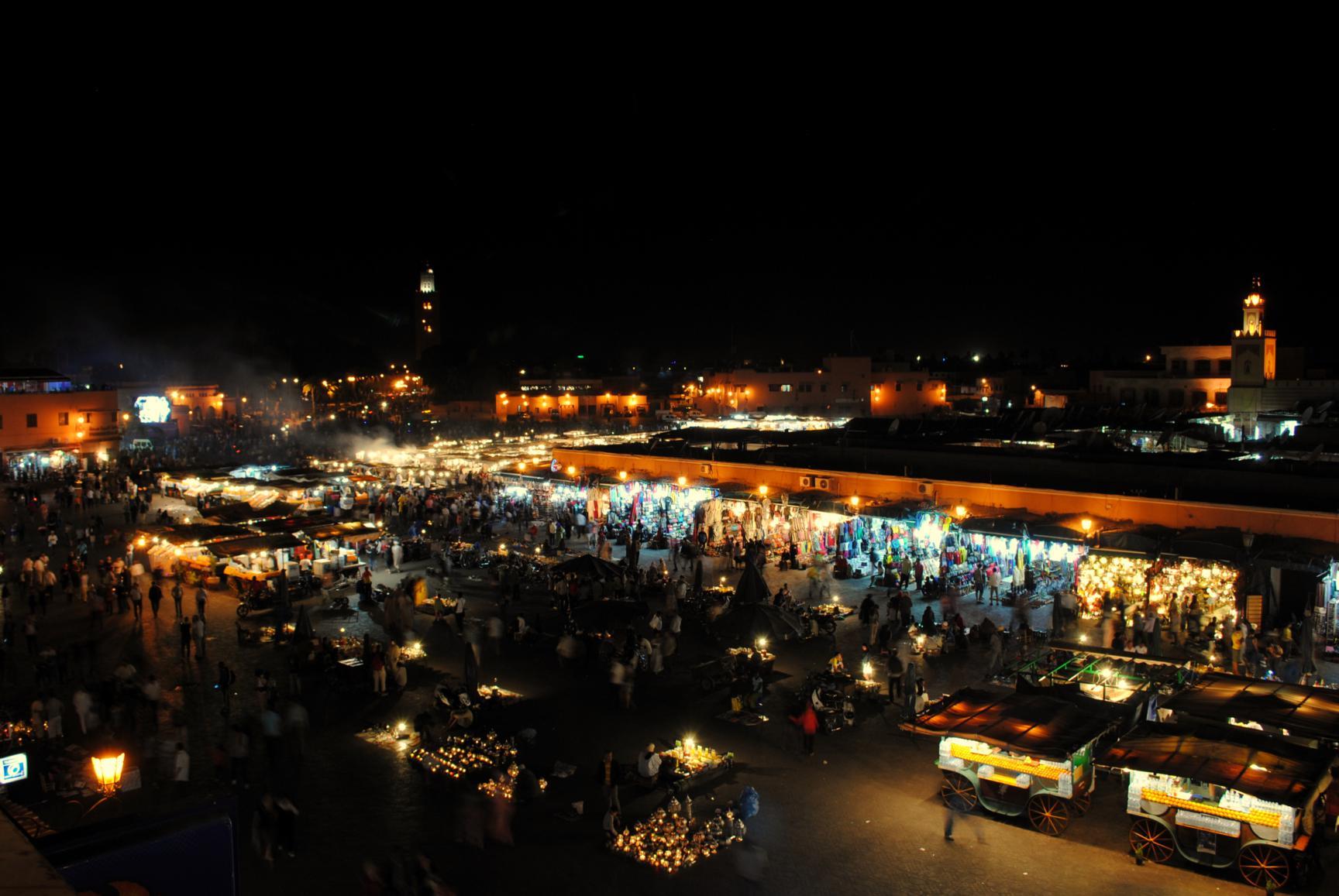 jemaa-el-fna-noche