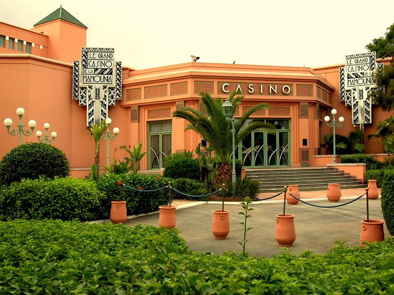 Casino Mamounia. Marrakech.