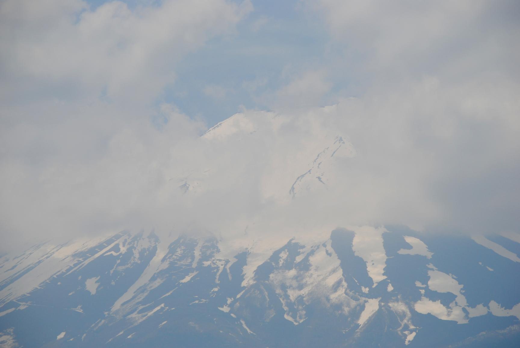 Monte Fuji desde el tren Otsuki-Kawaguchiko
