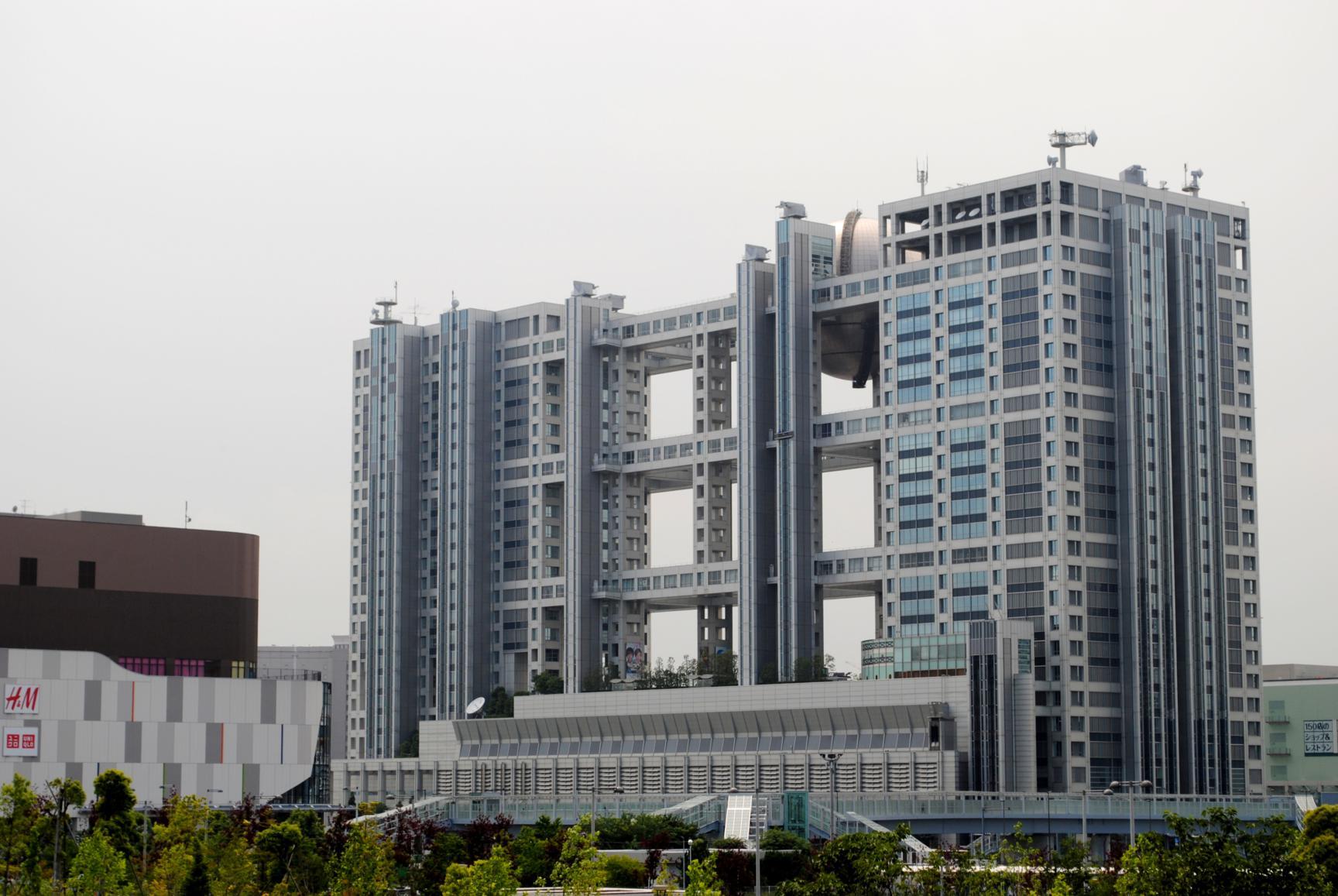 Edificio Fuji TV odaiba bahia tokyo