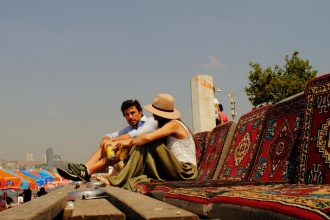 Barrio Salacak, orilla asiática. Estambul 2014.