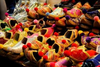 Zueco Turco. Bazar de las Especias.