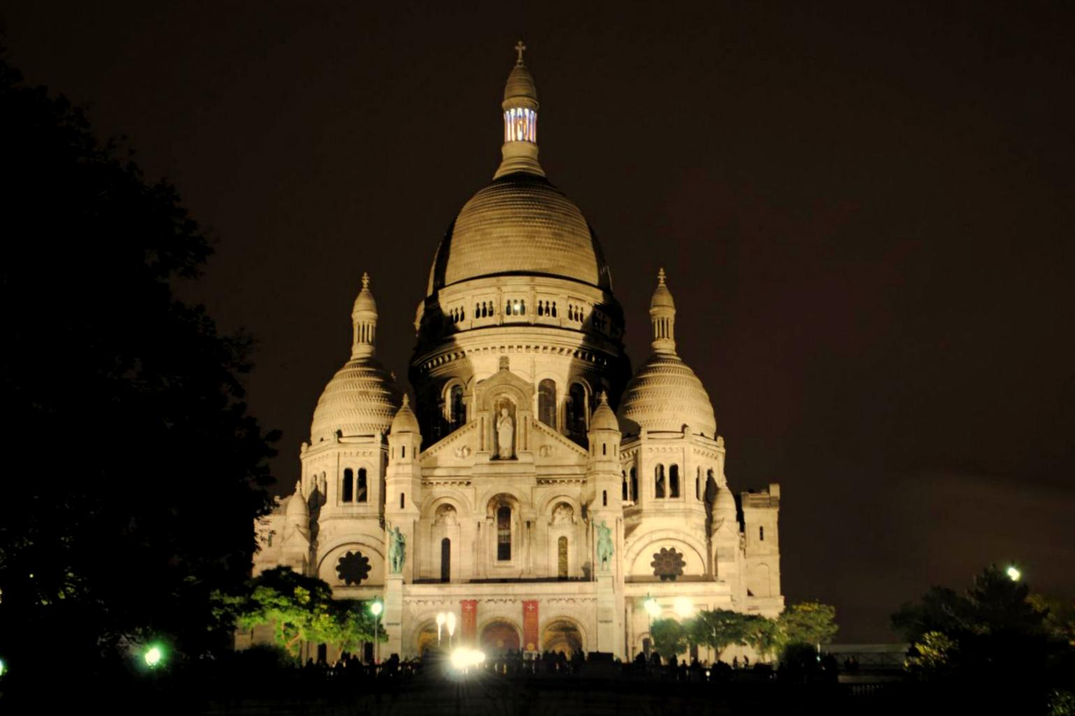 París Sacré Coeur (La basílica del Sagrado Corazón de Montmartre)