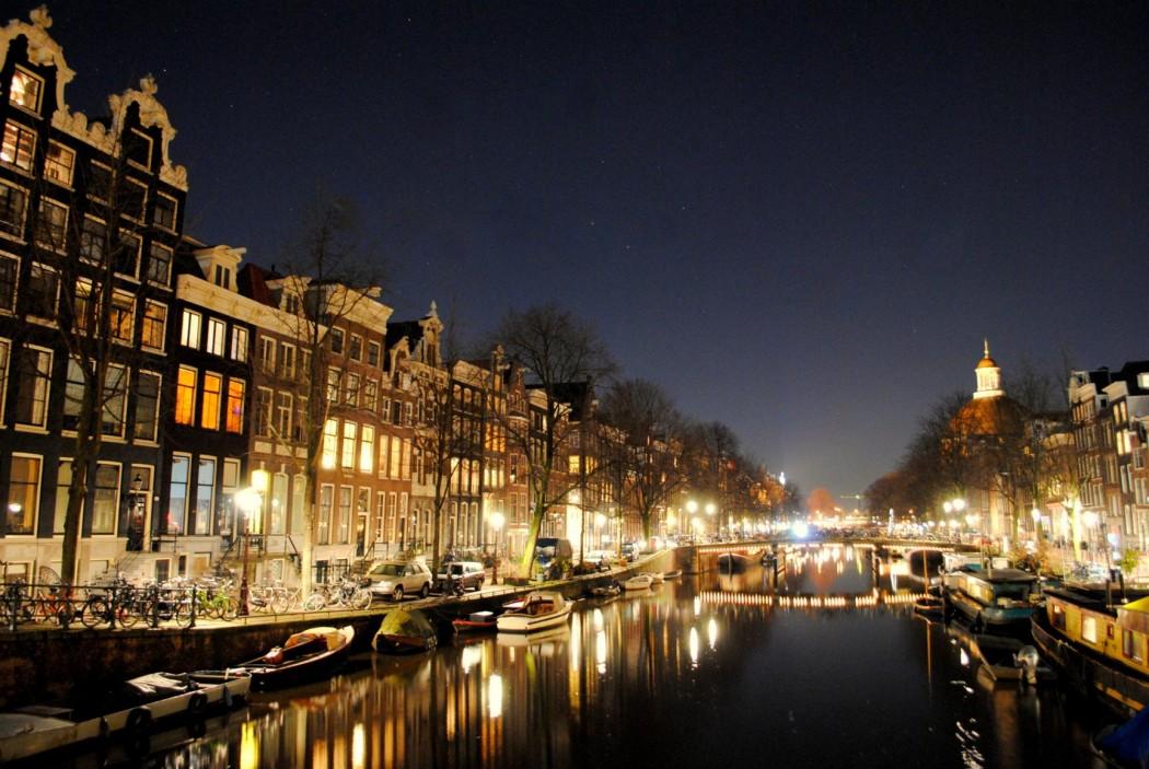 Canales del Barrio Jordaan. Ámsterdam 2015.