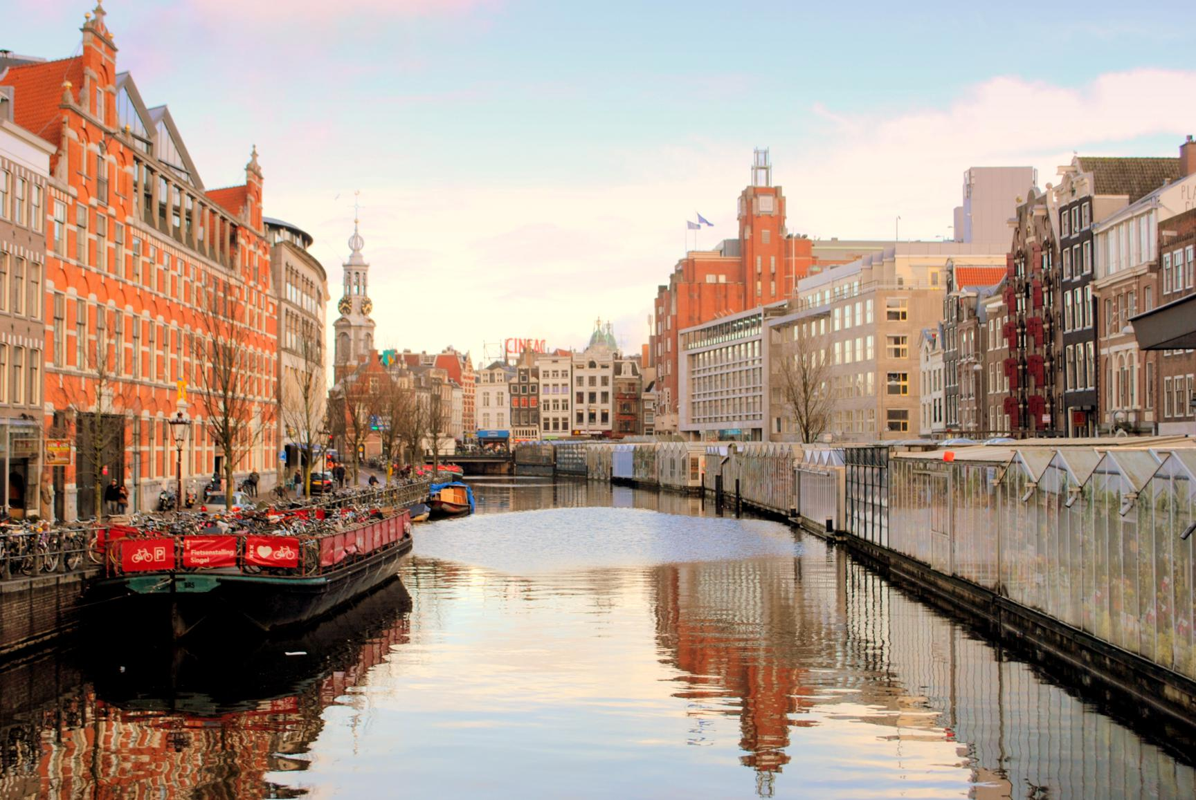 que-ver-amsterdam-canal-singel