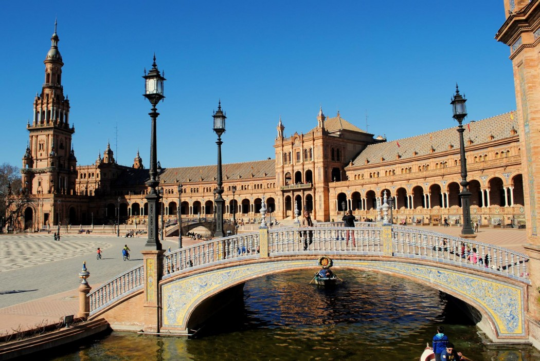 Plaza de España. Sevilla 2015.