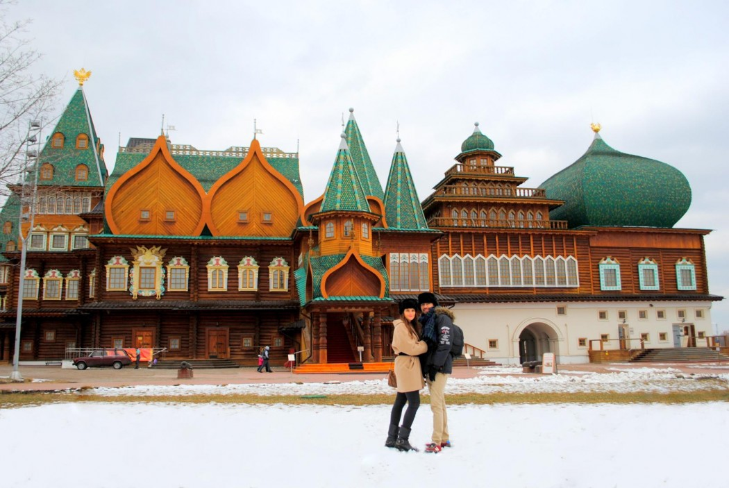 Palacio del Zar Mikhailovich, parque Kolómenskoye. Moscú 2015.