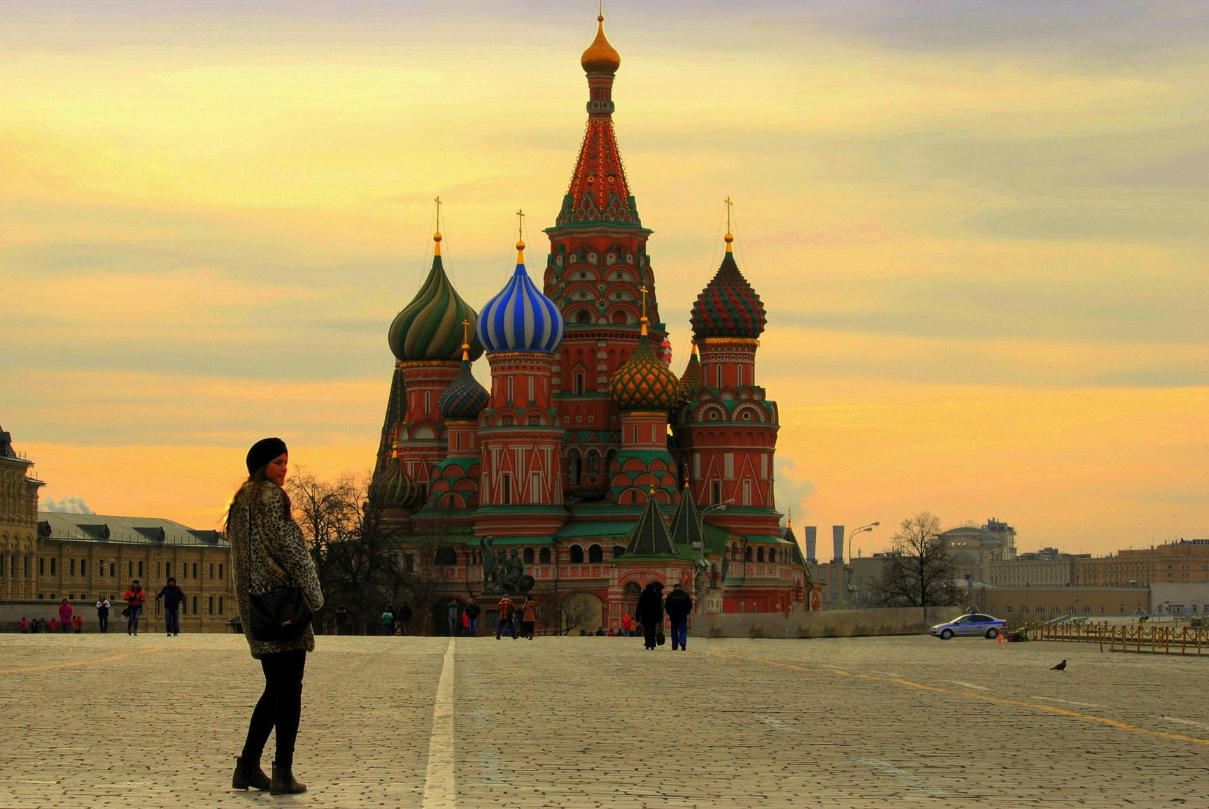 Catedral de San Basilio. Moscú 2015.