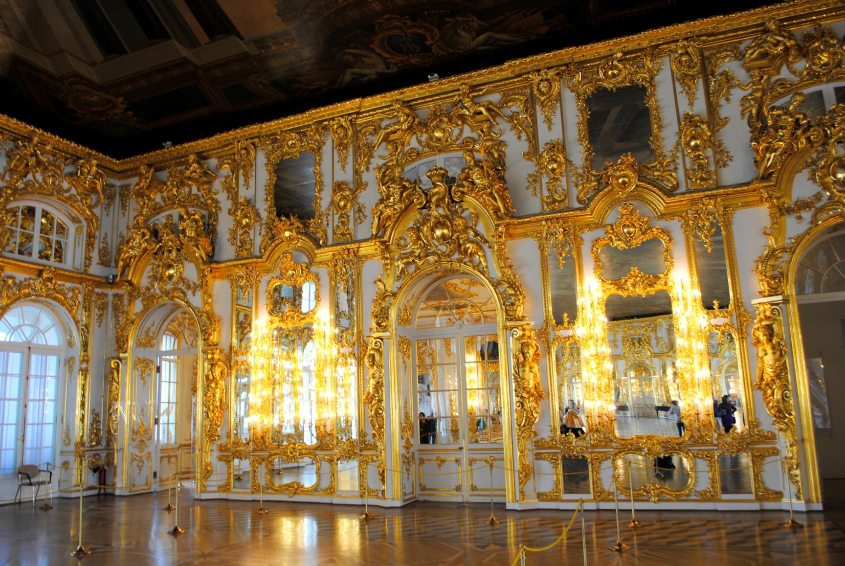Visita al palacio de catalina en pushkin for Sala 0 palacio de la prensa