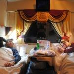 """Un viaje de película en el tren """"Flecha Roja"""" de Anastasia"""