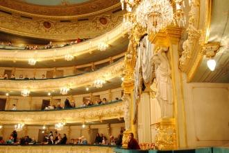 """""""Le nozze di Figaro"""" en el Teatro Mariinsky. San Petersburgo, 2015."""