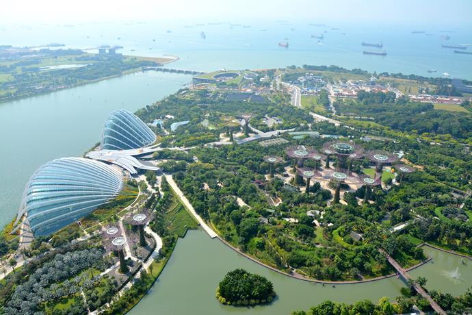 que-ver-singapur gardens bay