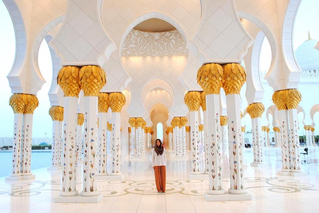 En la joya arquitectónica de Abu Dhabi. EAU, 2015.