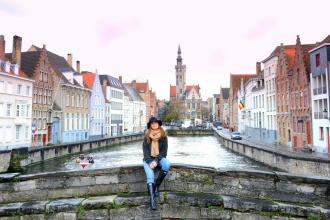 En el barrio del gran Jan Van Eyck. Brujas, 2017