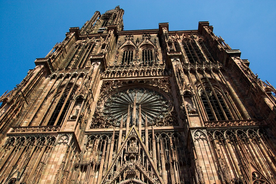Strasbourg-Gothic-Cathedral